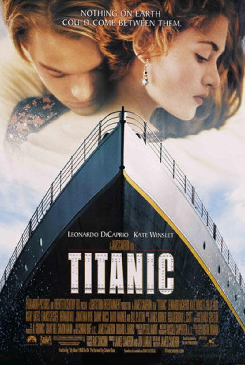 22x34 titanic movie poster